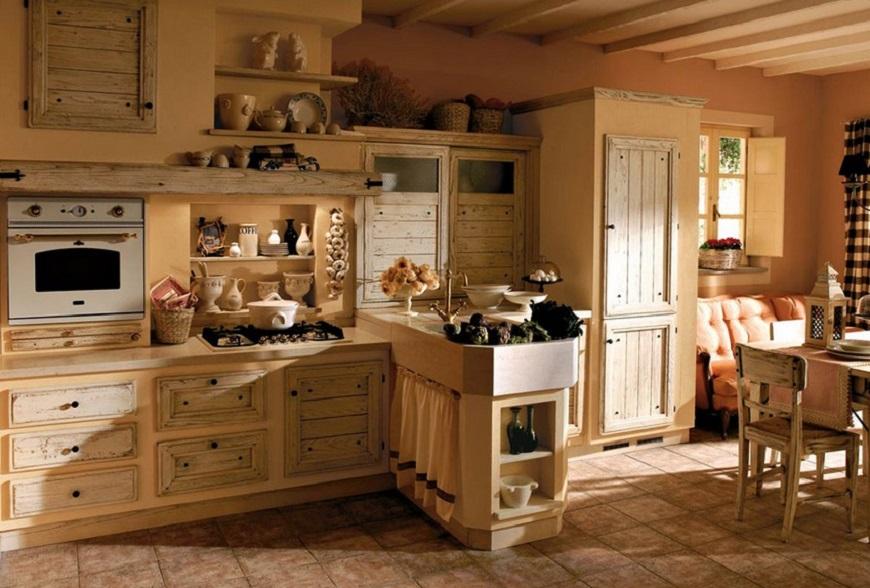 Ristrutturazione cucine Torino: il rustico, un piacere per i ...